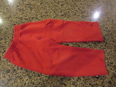 Nike Air Jordan Toddler Track sweat Pants boys girls workout running 4 T Red 3-4
