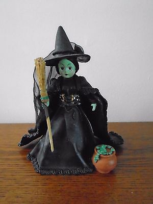 Classic Collectibles~Madame Alexander~Wicked Witch Of The West Figurine W/coa