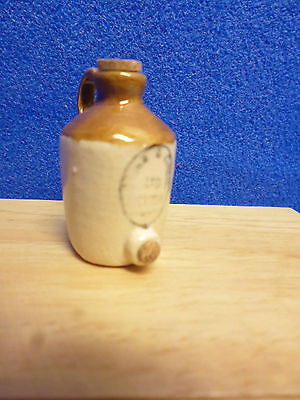 1/12 scale Dolls House Miniature    LARGE STONE JAR WITH TAP  CP098T