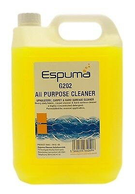 Espuma 0413-05 G202 All Purpose Cleaner (5Ltr) New
