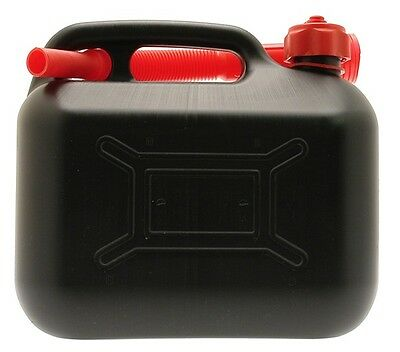 Black Plastic Diesel Can - 5 Litre Cosmos 03103 New