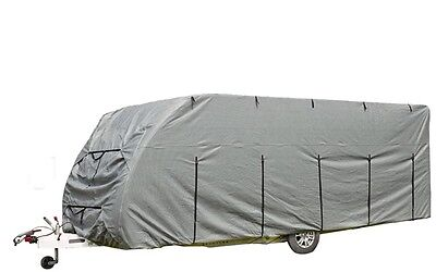 Caravan Cover Deluxe 19 - 21ft - Grey 923003 Royal New