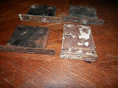 Vintage Lot of Old Antique Metal Rustic Mortise Door Locks