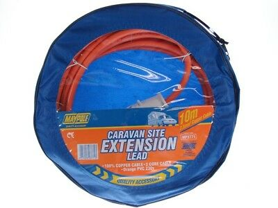 230v 10m Site Extension Lead 3771 Maypole Genuine Top Quality Product New