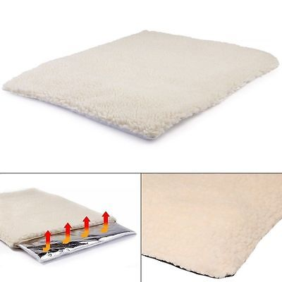 New Premium Self Heating Pet Bed Medium Blanket Rug Cushion for Dog Cat Thermal