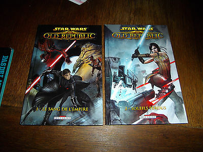 LOT STAR WARS - THE OLD REPUBLIC - N°1 et 2