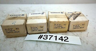 Lot of 4 Sets of Geometric High Speed Chasers 3/8, 7/16, 5/8, 5/16 (Inv.37142)