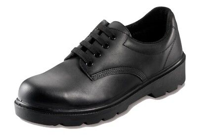Safety Shoes - Black - UK 6 Contractor 806SM06 New