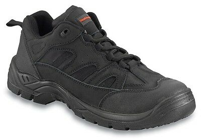 Safety Trainers - Black - UK 11 Worktough 72SM11 New