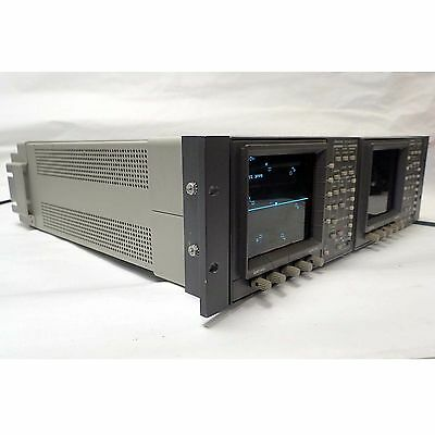 TEKTRONIX WFM 601i SERIAL COMPONENT MONITOR WITH 1740A WAVEFORM/VECTOR MONITOR