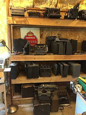 Lot of  300+ Antique and Vintage Typewriters