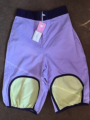 "Girls Cropped Trousers ""Girl By Green Cotton Organic"" BNWT Size 128 Age 7-8 Yrs"