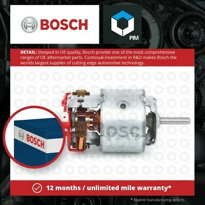 Interior Blower Motor 0130007027 Bosch Heater BPA Genuine Quality Replacement