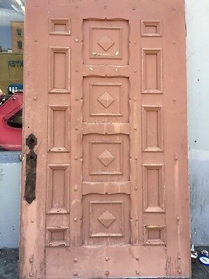 "Front door Spanish Revival Mission Style 48""x82-1/2"""