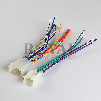 raptor ty8100 87 up toyota lead to car stereo wire harness car stereo wiring color codes raptor car stereo wiring harness #15