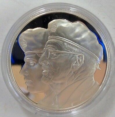 2005 Canada Silver $10 Year of the Veteran Proof Coin. RCM. Collector Coin.