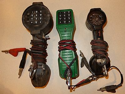Vintage Bell System Beco Harris Western Electric Lineman Telephone Test