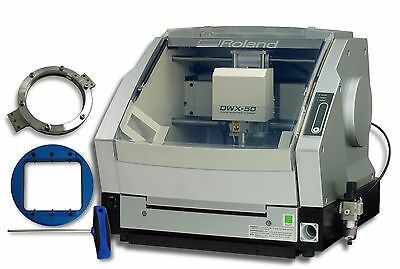 2013 Roland DWX-50 5-Axis Mill + Dust Collector w/ Warranty