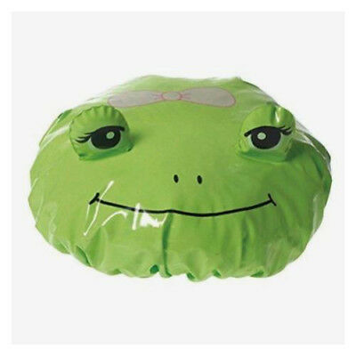 Spa Sister One Cute Shower Cap - Green Frog