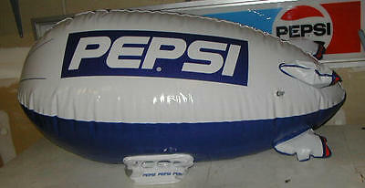 "Large INFLATABLE PEPSI Plane/Blimp-NEW by THE ""IN"" Flatabl's Huge Advertising"