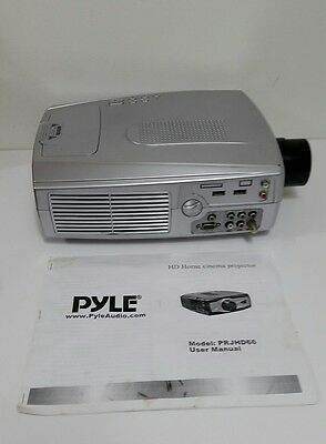 Pyle PRJHD66 Movie LCD Projector With A Case