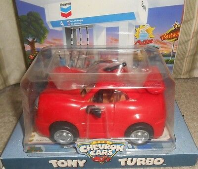 Toy Car TONY TURBO Collectible Chevron Cars New Sealed Package 1996 NIP