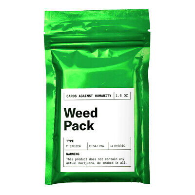 Cards Against Humanity Weed Pack Expansion NEW