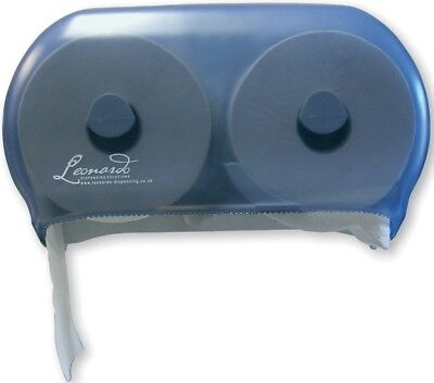 Versatwin Toilet Roll Dispenser Leonardo DSTA06 New