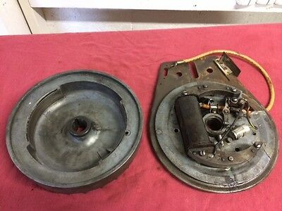 Briggs and Stratton FI coil and flywheel.  FH antique hit & miss