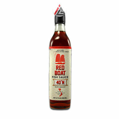 Red Boat - Fish Sauce 40° N (100% Pure Vietnam Extra Virgin Premium)500ml