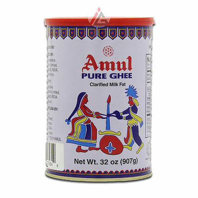 Amul - Pure Ghee (Clarified Butter) in Tin - 1 Litre