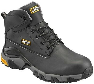 4x4 Boot Black Size 6 4X4B/06 JCB New
