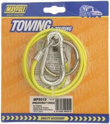 Breakaway Cable Pvc Yellow 1mx3mm Dp 5015 Maypole Genuine Top Quality Product