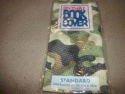NEW Standard Camo Book Cover Stretchable Fabric Sox sock School College (B28)