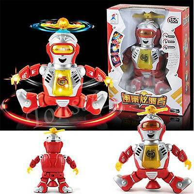 Elect Walking Dancing Smart Space Robot Astronaut Baby Kids Music Light Toys g1