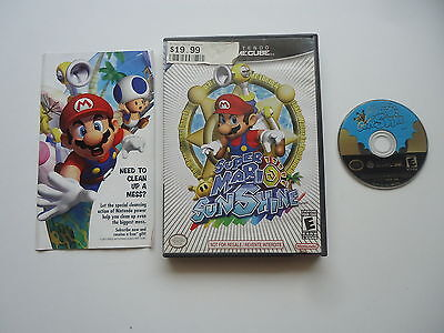 Super Mario Sunshine - Nintendo Gamecube - In Box -No manual