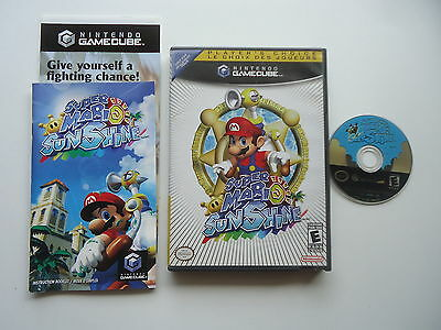 Super Mario: Sunshine - Nintendo Gamecube - Complete In Box - CIB