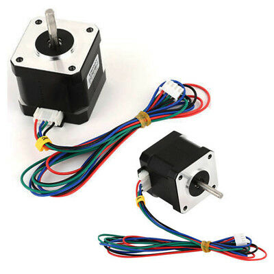 CNC 1.8Degree NEMA17 1.7A 40mm 2Phase 4Lead Stepper Motor For 3D Printer Tools