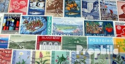 Iceland 50 different stamps