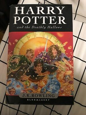 Harry Potter and the Deathly Hallows by J. K. Rowling (Paperback, 2008)