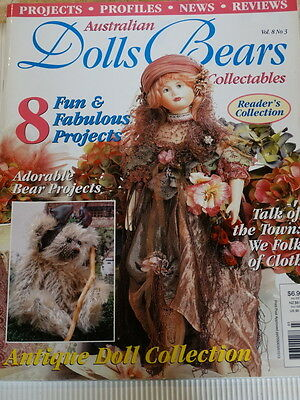 Dolls Bears and Collectables Magazine, Vol 8 No 3