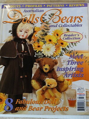 Dolls Bears and Collectables Magazine, Vol 7 No 8