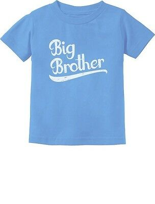 Big Brother Novelty T-Shirt For Toddler Kid Sibling Baby Announcement 3T Blue