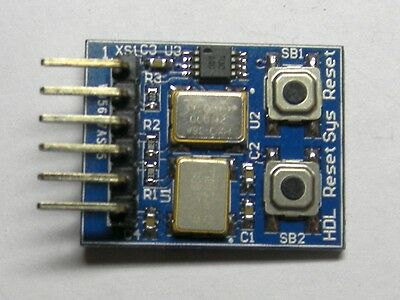 305601 - pmCLK - 3.6864MHz and 24MHz - prototyping board