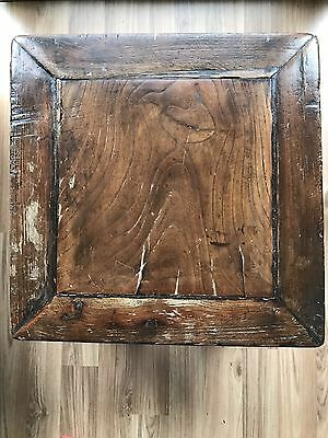 Chinese Antique Furniture Zen Stool Super Rare Wood Were Used