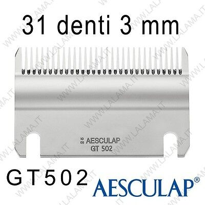 Pettine 3 mm 31D GT502 - Aesculap