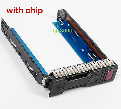 651314-001 For HP Gen8 Drive Caddy 3.5 HDD Tray ProLiant DL380p DL360p DL385 G8