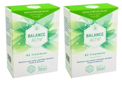 2 x Balance Active Bv Vaginal Gel 7X5ml