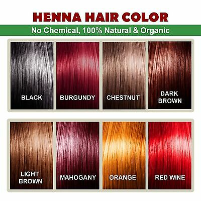 ALLIN Henna Hair Color – 100% Organic Chemical free Henna Hair Hair Care Natural