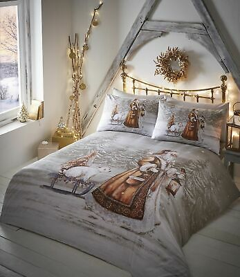 Twilight Traditional Christmas Quilt/duvet Cover Sets,bedding Sets,bed Linen.